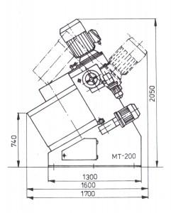 mieszarka turbinowa mt-200-1000px