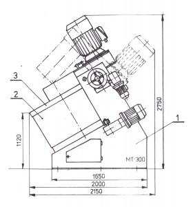 mieszarka turbinowa mt-300-1000px